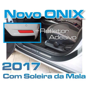 Soleiras Onix 2017 + Soleira Da Mala + Refletor Mr.magoo*