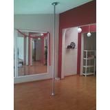 Tubo Para Pole Dance Para Gym (fijo-giratorio) Uso Rudo