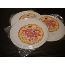 Tablas Para Servir Pizza Plasticas X 5 Unidades 149,99
