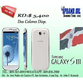 Samsung Galaxy S3, Bien Barato!!!! Por El Mes De La Patria.