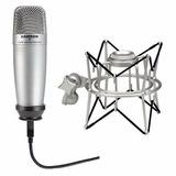 Microfono Samson C01ucw Usb + Samson Shock + Dvd Cakewalk