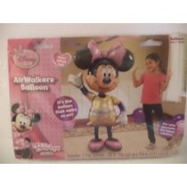 Globo Metalico Fiestas Air Walkers Minnie Mouse