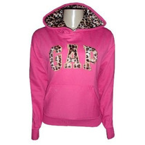 Casaco Gap Feminina De Oncinha Blusa Jaqueta Rosa Pink