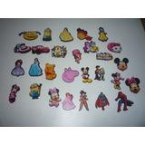 50 Apliques Mickey, Minnie, Princesas Y Mas
