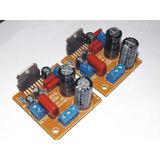 Par De Módulos Amplificadores De Audio -100w - Con Tda 7294