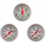 Kit 3 Relojes Orlan Rober Racing 52mm Agua-aceite-amp