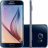 Samsung G920 Galaxy S6 Preto 32gb 4g 16mp Original | Vitrine
