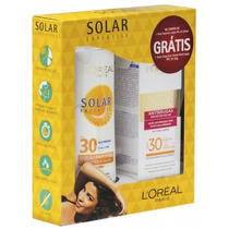 Protetor Solar Loreal Fps 30-200ml + Facial Antirrugas30ml