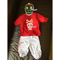 Disfraz Zombie Futbolista Plantas Vs Zombies Hallowen Cumple
