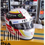 F1 Lewis Hamilton Mini Casco Mercedes Campeon 2015 Esc 1/2