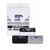 Calzoncillos Boxer Emporio Armani Pack 3 Uni. Importados
