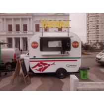 Food Truck Trailer Totalmente Equipado!! Listo Para Usar!!