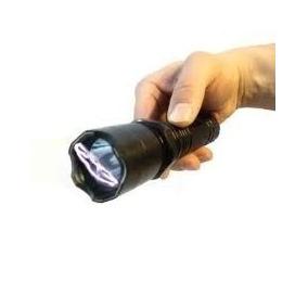 Lanterna Choque Tática 10000kv Recarregavel 180000w + Coldre