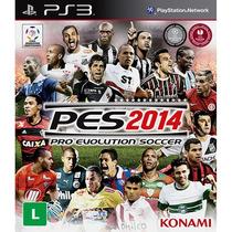 Pro Evolution Soccer 2014 - Em Português - Ps3 - Pes 2014