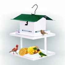Comedouro Para Pássaros Livre Com Fruteira Fercar