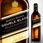 Whisky Jhonny Walker Double Black X 4 Botellas De 1 Lt