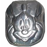 Set 2 Moldes Minnie Y Mickey Tortas Tematicas Aluminio