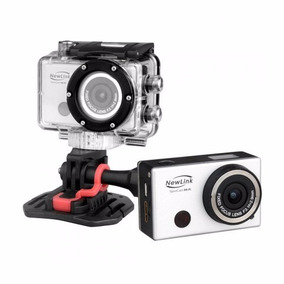 Filmadora Sport Cam Newlink Fs101 Wi-fi 5 Mp Á Prova D
