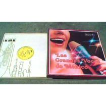 8 Discos L.p. Las Grandes Voces De Mexico
