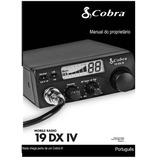 Manual Do Rádio Px Cobra 19 Dx Iv Em Português