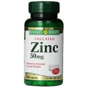 Bounty Quelato De Zinc De La Naturaleza (gluconato De Zinc)