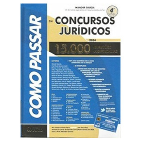 Como Passar Em Concursos Jurídicos 15.000 Questões Comentada