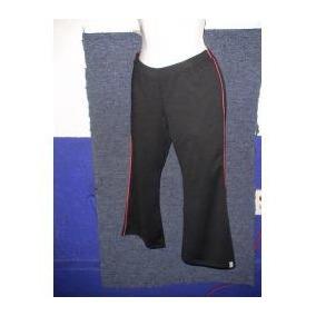 Pantalón Pescador New Balance Fitness Capri Negro/rojo, Wow!