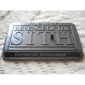 2006 Star Wars Saga Rots General Grievous Gray Stand