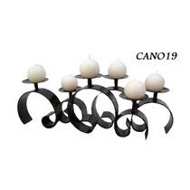 Candelero Mar Con 6 Velas Hierro Y Forja 25x60