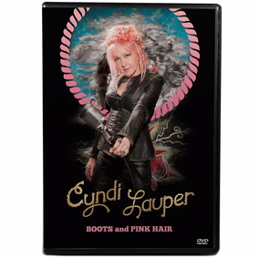 Dvd Cyndi Lauper - Boots And Pink Hair - Detour Collection