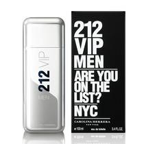 212 Vip Men Eau De Toilette Carolina Herrera - 100ml