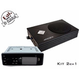 Kit Dvd 3 Polegadas+caixa Amplificada 200w Rms Falcon