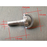 Tornillo D-ring 1/4 Largo Chancla Base Tripie Accesorio Dslr