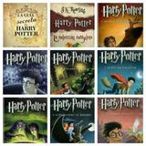 Colección De 9 Libros De Harry Potter