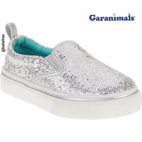 Zapatos Para Niñas Escarcha/ Plata Garanimals - Usa