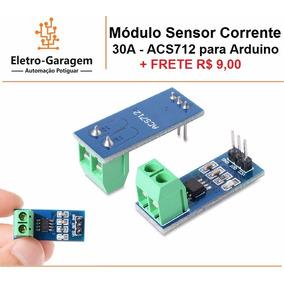 Módulo De Sensor Corrente 30a Para Arduino + Frete R$ 9,00