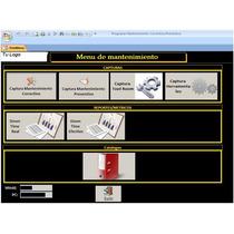 Control De Mantenimiento Preventivo Y Correctivo De Maquinas