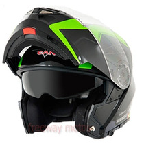 Casco Rebatible V-can V270 Doble Visor 2016 Freeway Motos !
