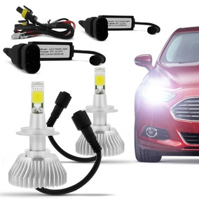 Kit Iluminação Automotiva Xenon Lâmpada Led H3 6000k Bivolt