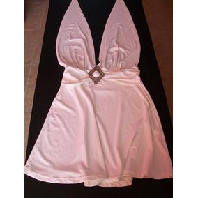 Remera Vestir Fiesta Escotada Seda Fria Corte Marilyn Usada