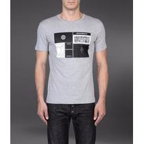 Camiseta Emporio Armani Jeans Giorgio Nova Tam G De $680 Por