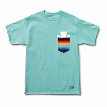 Camiseta Grizzly Supply Baja Pocket Tee Black Blue Original