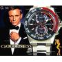 Reloj En Oro Rosa 10kilates Cronografo 100mts Envio Gratis!!