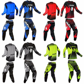 Conjunto Kit Calça + Camisa Ims Start 2016 Trilha Motocross