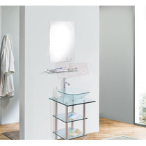 Esatto® Mueble Baño Espejo Repisa Llave Desagües Mv-009 Plus