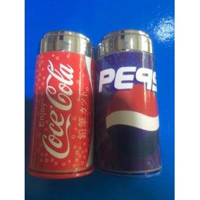 Coca-cola & Pepsi Apontador Com Borracha ( 1 Unidade )