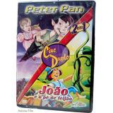 Peter Pan + João E O Pé De Feijão Dvd Novo Original Lacrado