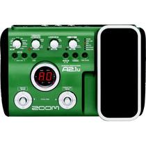 Pedaleira Zoom A2.1u A2 1u A2.1 P/ Violão +pedal+usb Novo