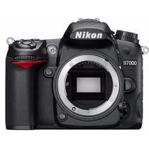 Câmera Nikon Dslr D7000 16.2mp Vídeo Hd 1080p Sem Lente