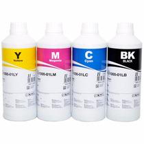 4 Litros De Tinta Corante Para Impressoras Epso Inktec